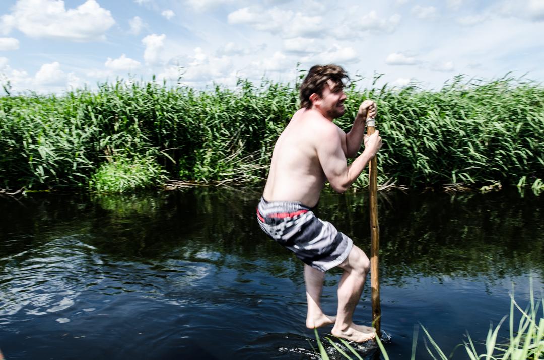 Weekend nad Biebrzą - spływ tratwą (11)
