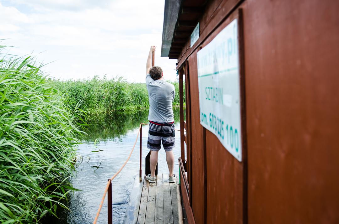 Weekend nad Biebrzą - spływ tratwą (23)