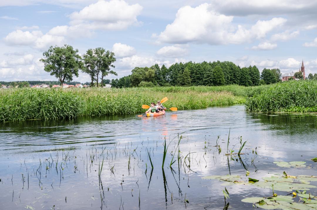 Weekend nad Biebrzą - spływ tratwą (27)