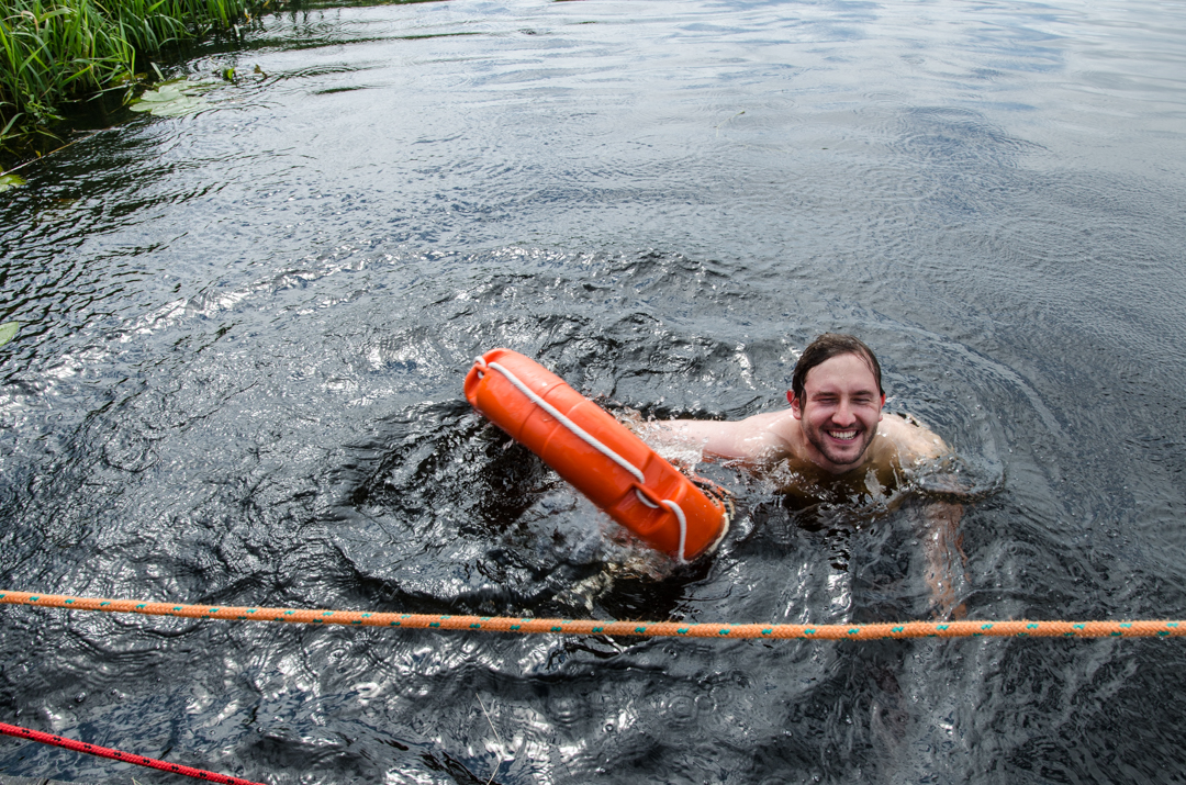 Weekend nad Biebrzą - spływ tratwą (38)