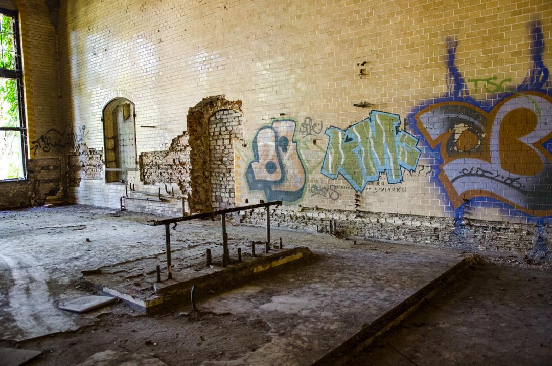 Opuszczony szpital dla chorych na gruźlicę w Beelitz (15)
