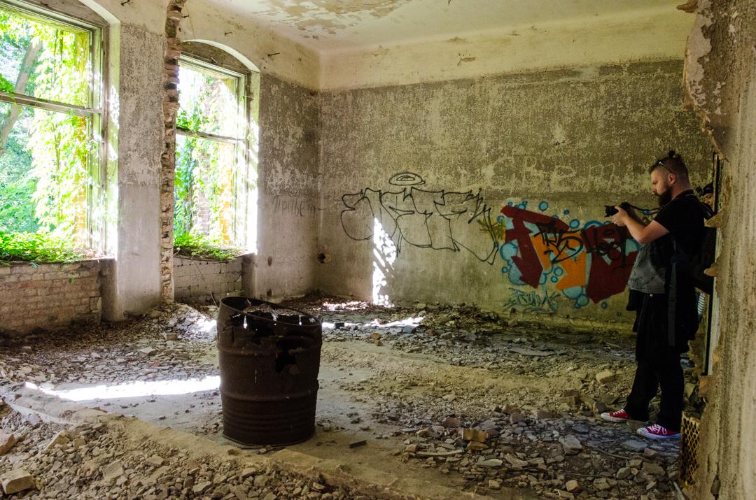 Opuszczony szpital dla chorych na gruźlicę w Beelitz (21)