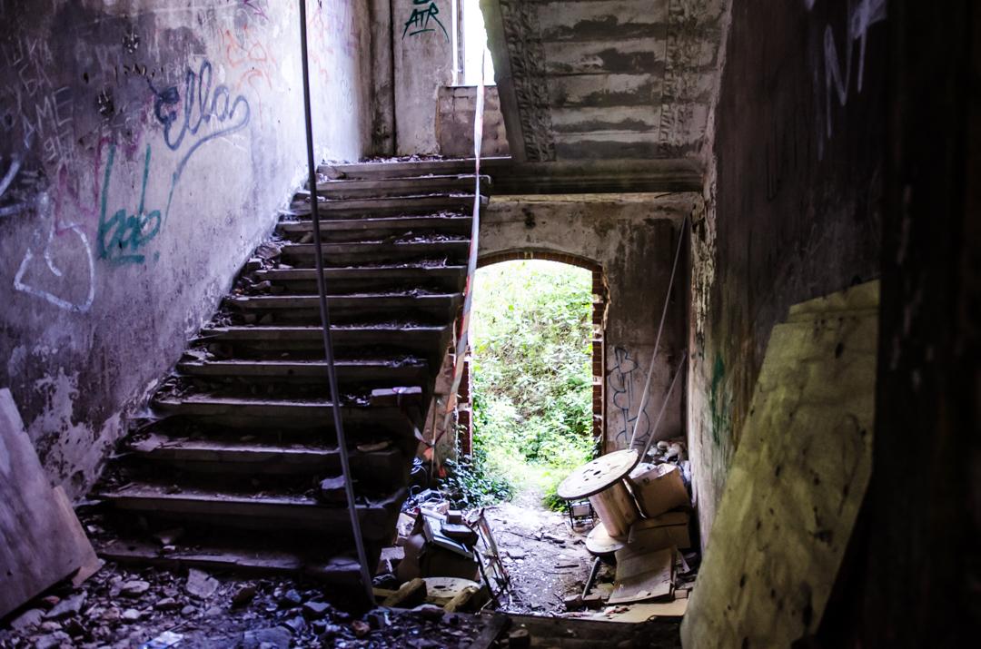 Opuszczony szpital dla chorych na gruźlicę w Beelitz (23)