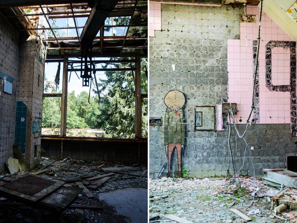 Opuszczony szpital dla chorych na gruźlicę w Beelitz (3)