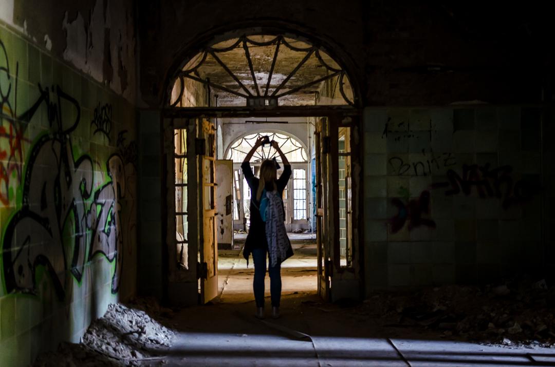 Opuszczony szpital dla chorych na gruźlicę w Beelitz (33)