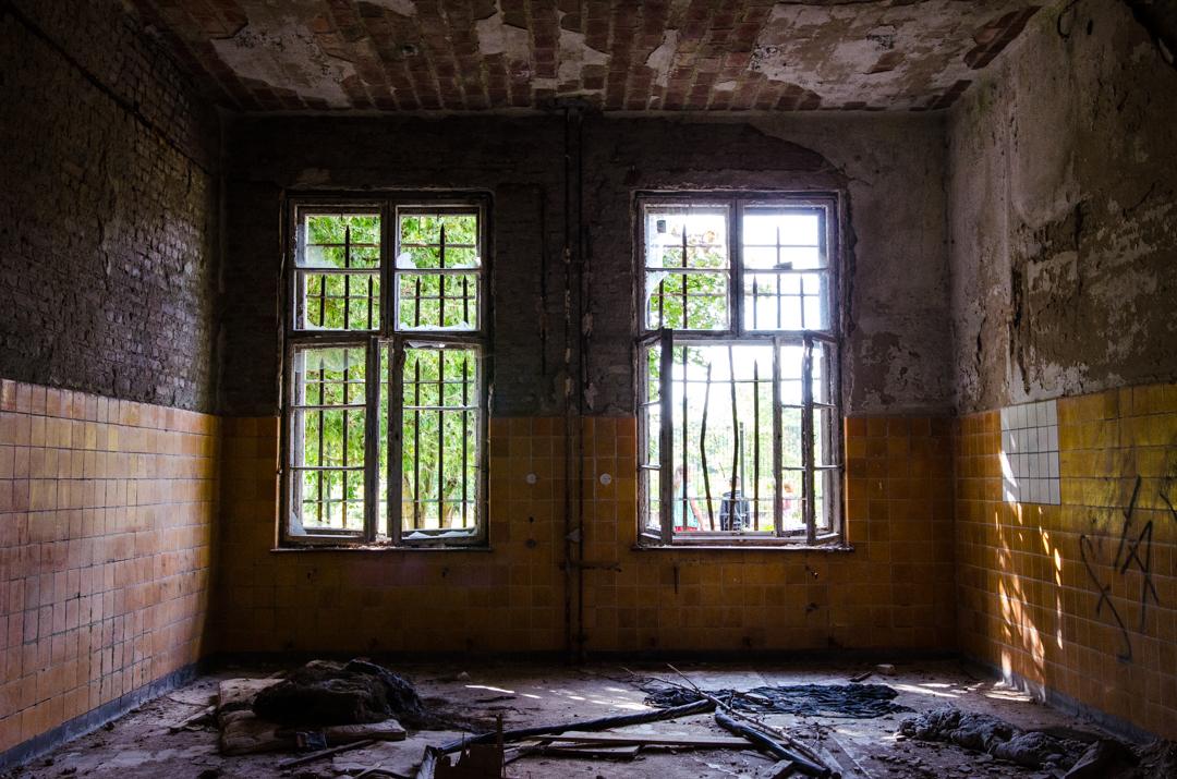 Opuszczony szpital dla chorych na gruźlicę w Beelitz (34)