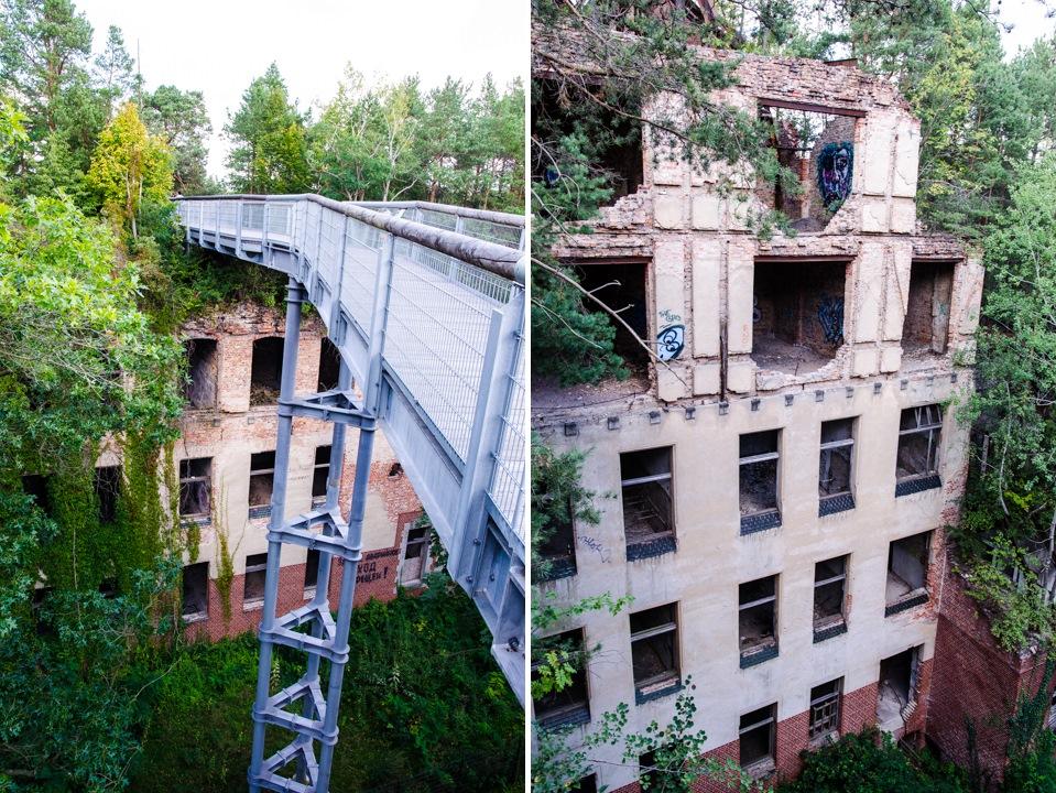 Opuszczony szpital dla chorych na gruźlicę w Beelitz (4)