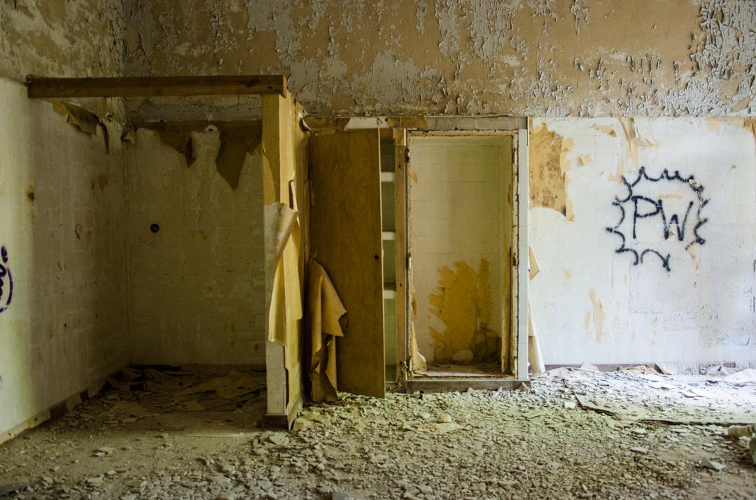 Opuszczony szpital dla chorych na gruźlicę w Beelitz (40)