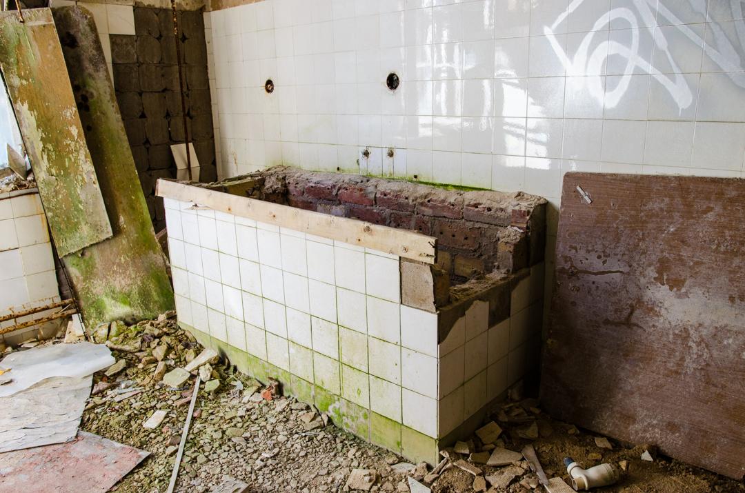 Opuszczony szpital dla chorych na gruźlicę w Beelitz (44)