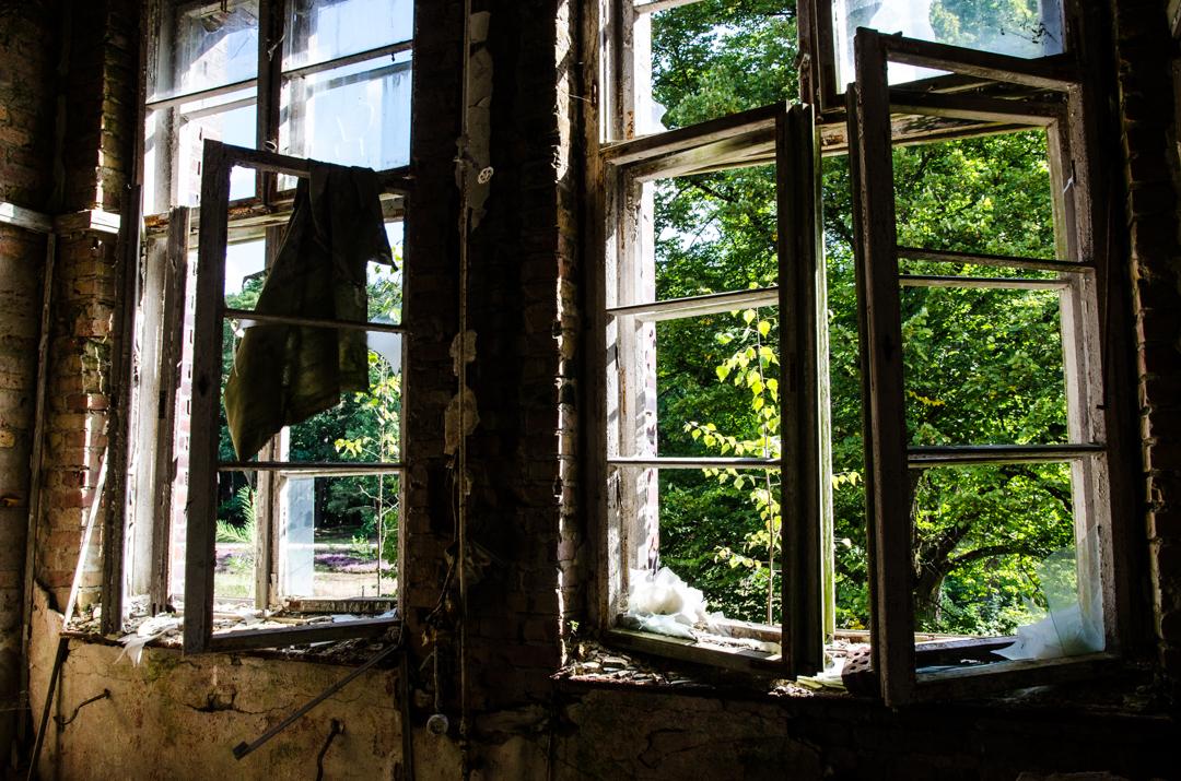 Opuszczony szpital dla chorych na gruźlicę w Beelitz (45)