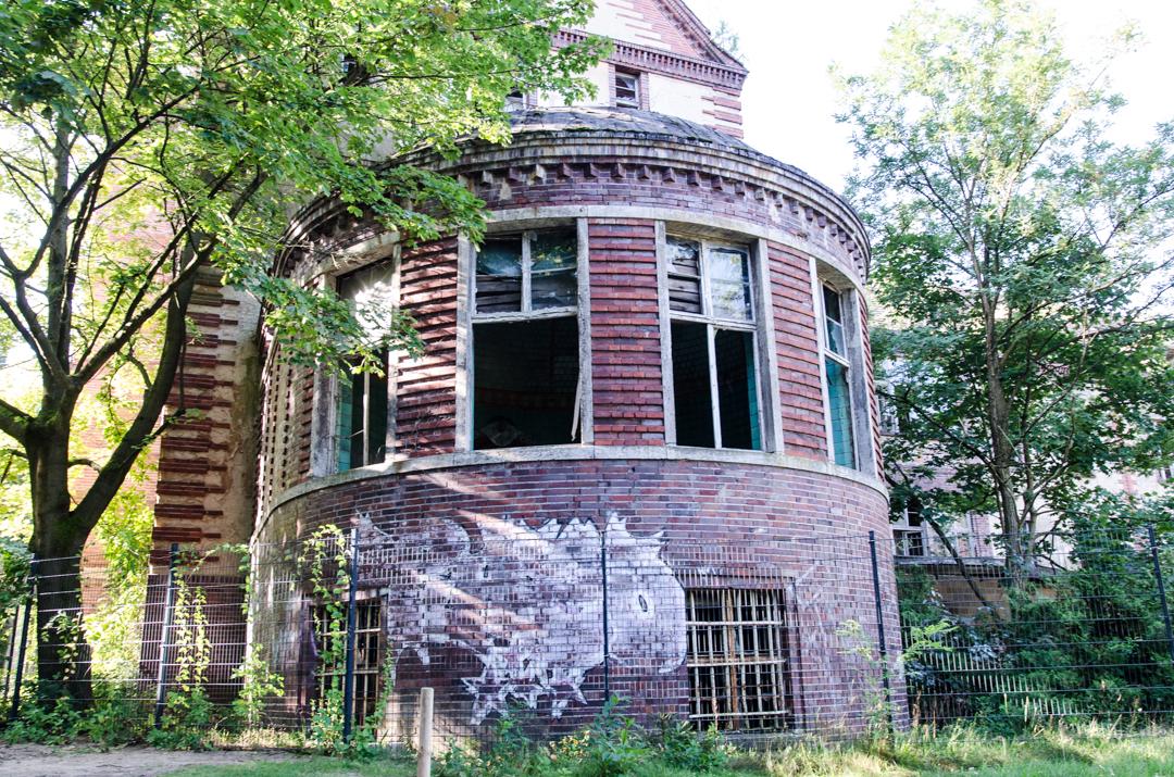 Opuszczony szpital dla chorych na gruźlicę w Beelitz (5)