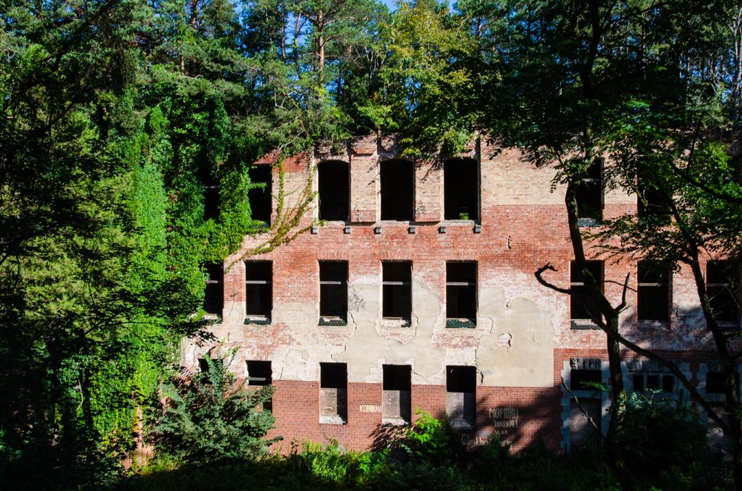 Opuszczony szpital dla chorych na gruźlicę w Beelitz (6)