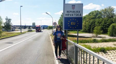 Opuszczone przejście graniczne Chorwacja - Węgry