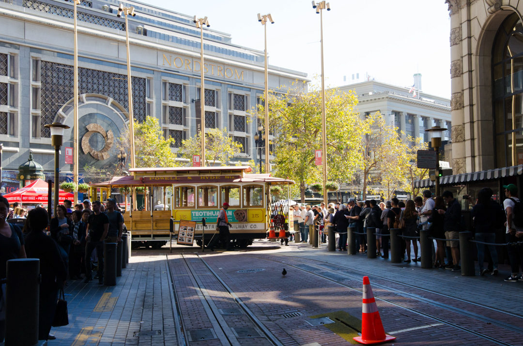 Wzgórza i nierówności San Francisco