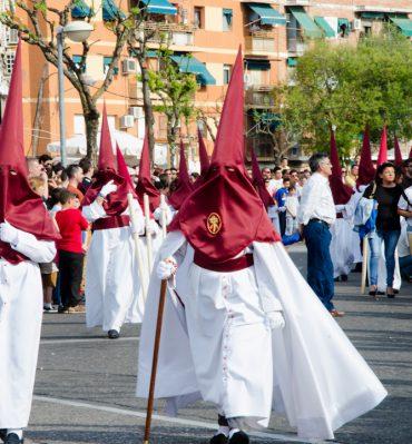semana santa wielkanoc w hiszpani