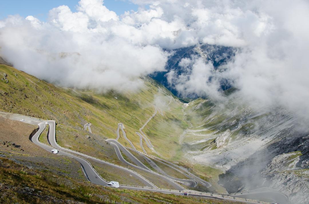 Przejazd Żukiem przez Przełęcz Stelvio