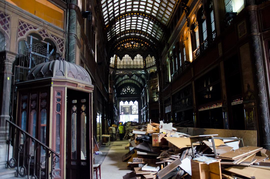 opuszczone centrum handlowe budapeszt