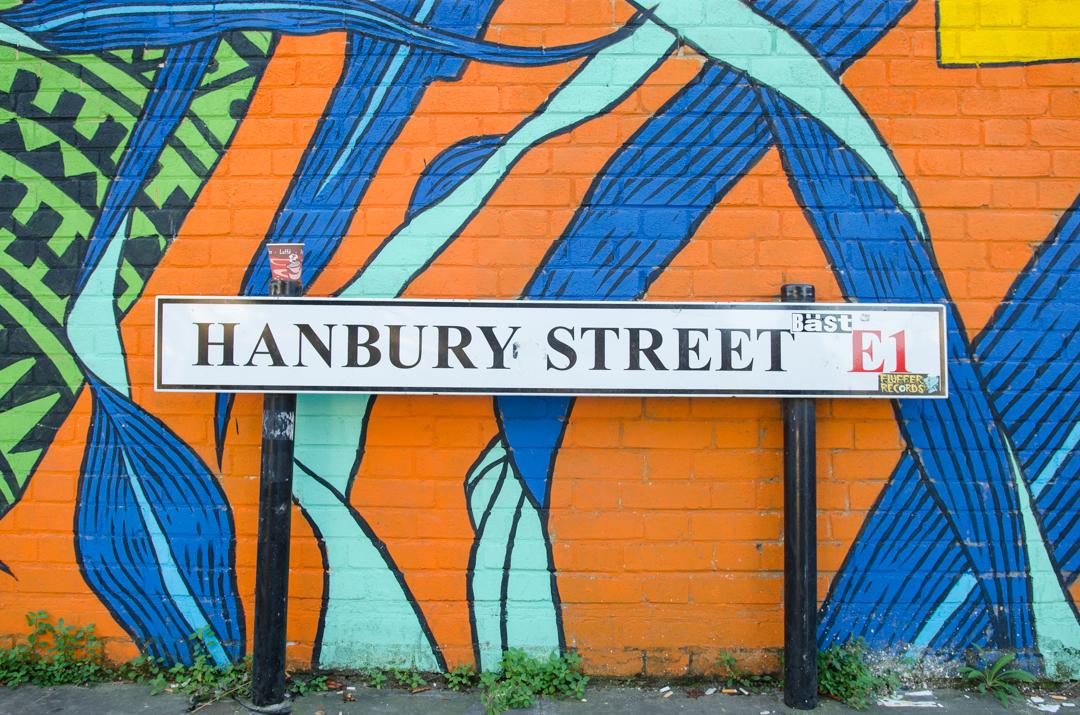 Street art w Londynie