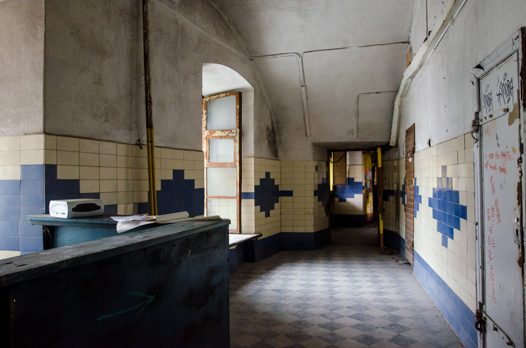 opuszczone więzienie w Tallinnie