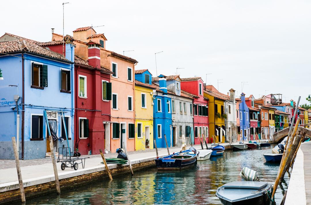 Kolorowa wyspa Burano