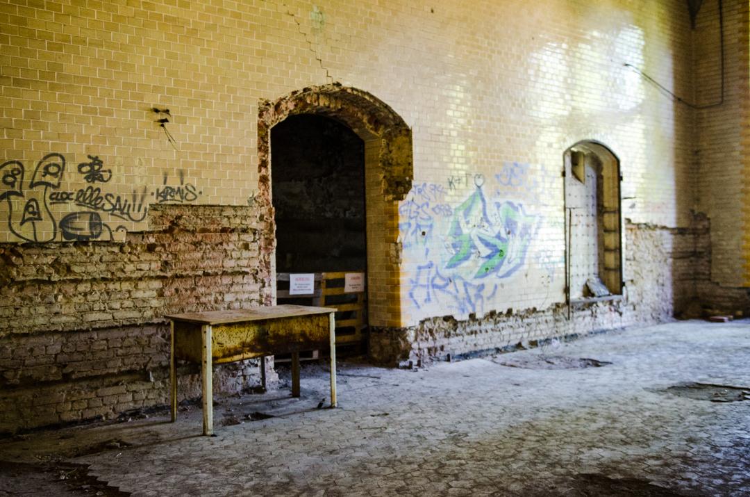 Opuszczony szpital dla chorych na gruźlicę w Beelitz (14)