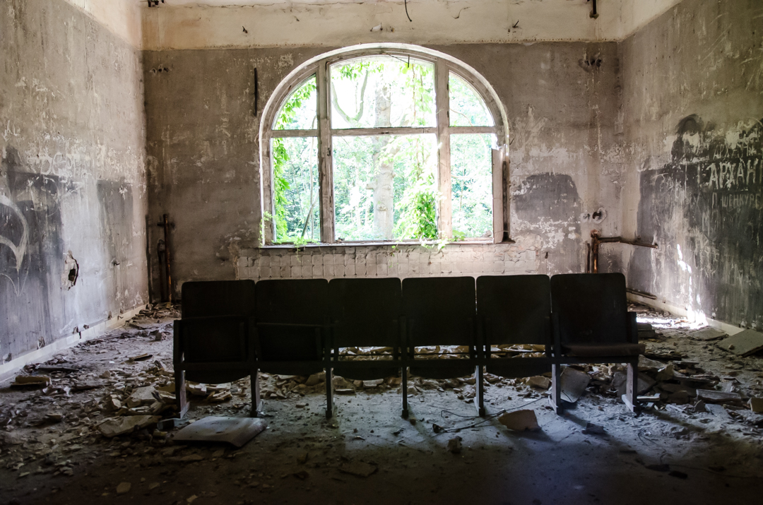 Opuszczony szpital dla chorych na gruźlicę w Beelitz (17)