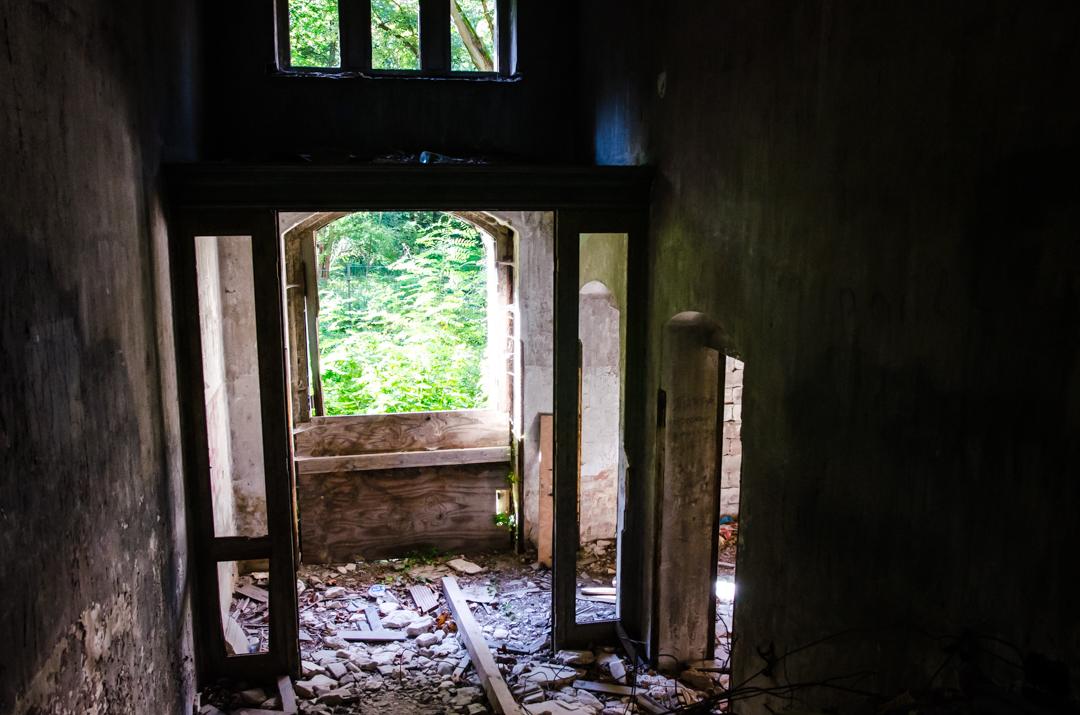 Opuszczony szpital dla chorych na gruźlicę w Beelitz (22)