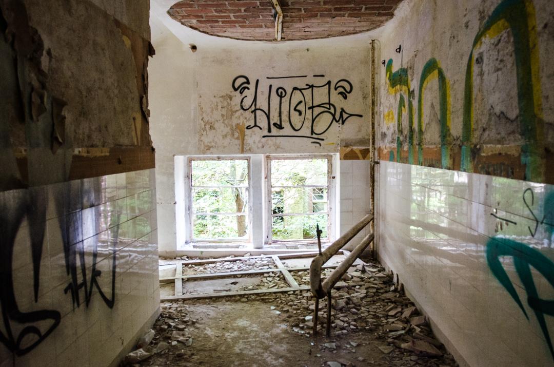 Opuszczony szpital dla chorych na gruźlicę w Beelitz (30)