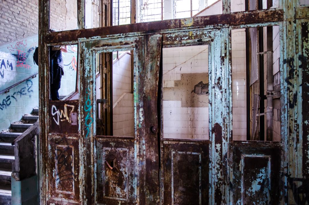 Opuszczony szpital dla chorych na gruźlicę w Beelitz (31)