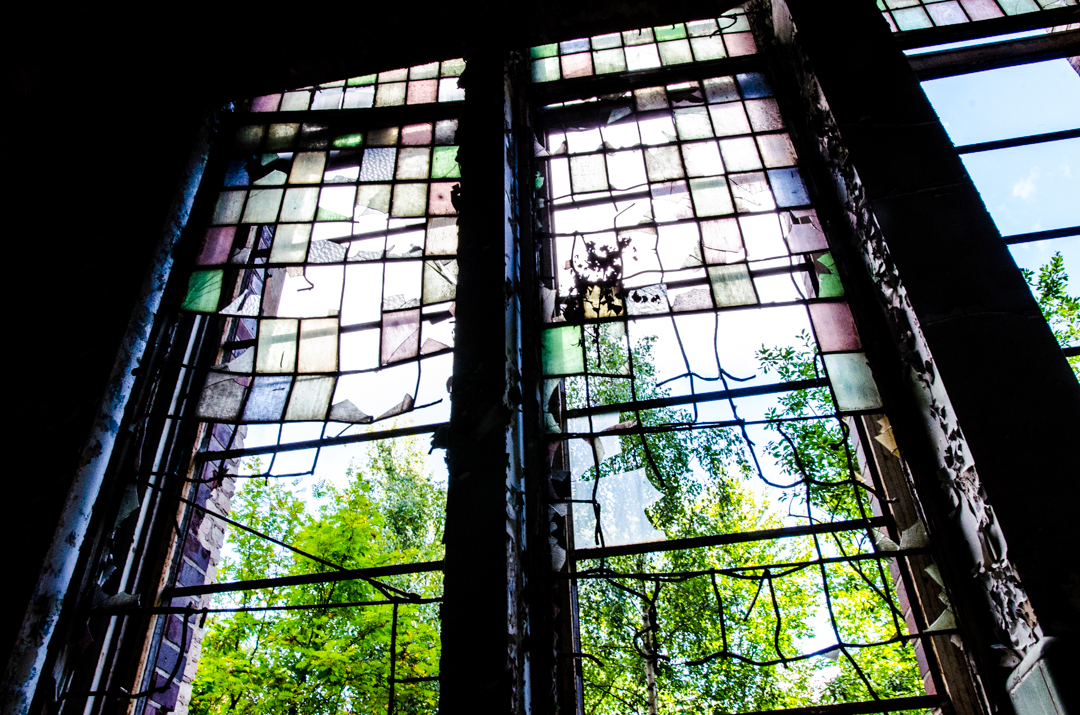 Opuszczony szpital dla chorych na gruźlicę w Beelitz (32)
