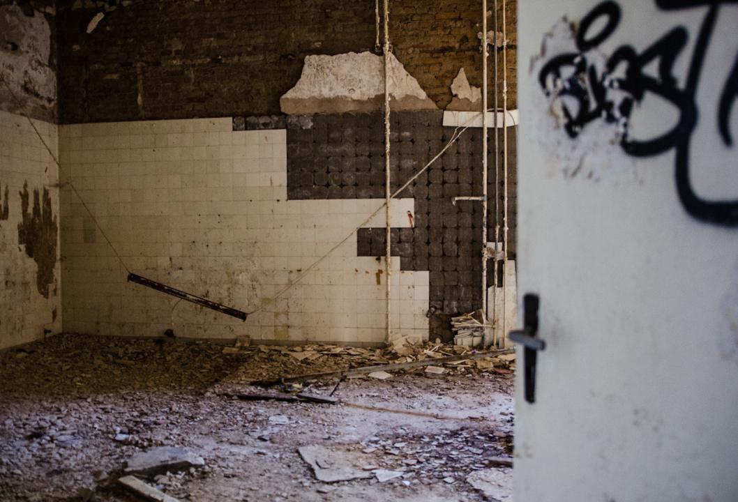 Opuszczony szpital dla chorych na gruźlicę w Beelitz (38)