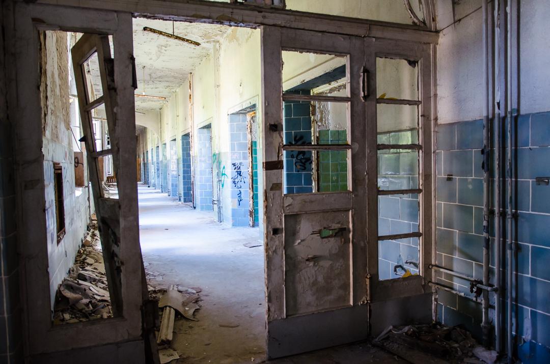 Opuszczony szpital dla chorych na gruźlicę w Beelitz (39)
