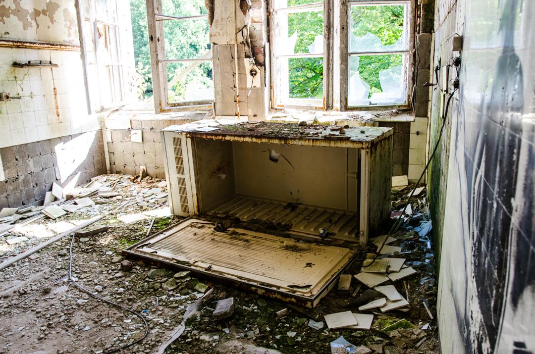 Opuszczony szpital dla chorych na gruźlicę w Beelitz (46)