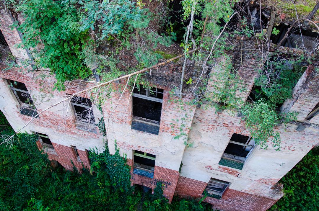 Opuszczony szpital dla chorych na gruźlicę w Beelitz (54)