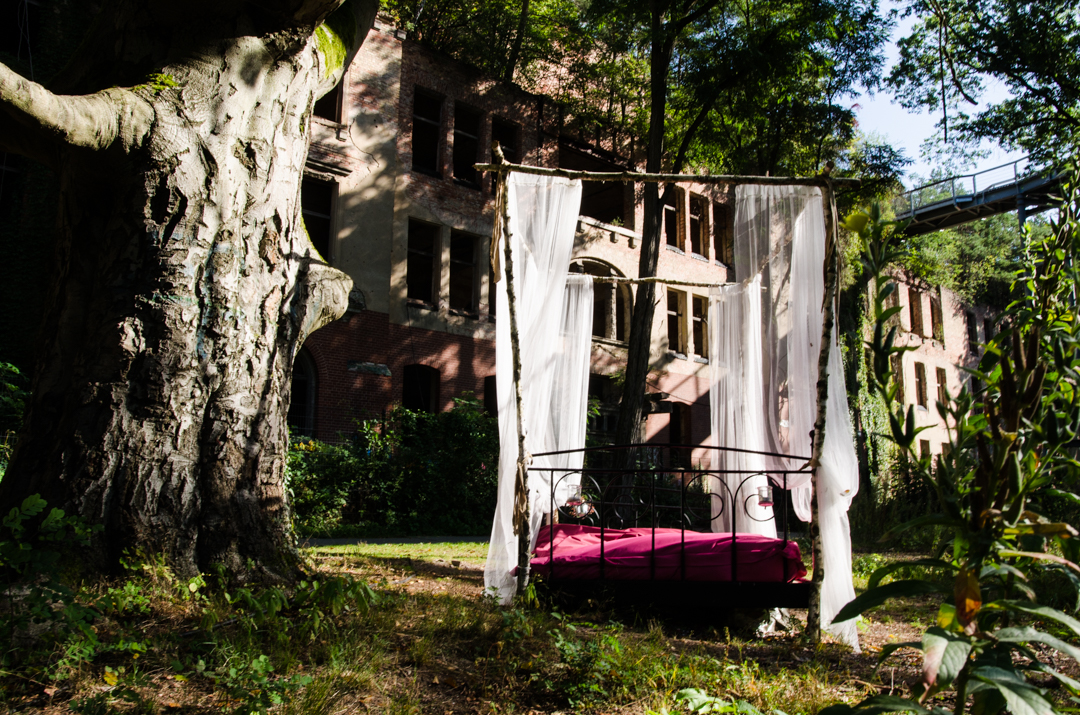 Opuszczony szpital dla chorych na gruźlicę w Beelitz (7)