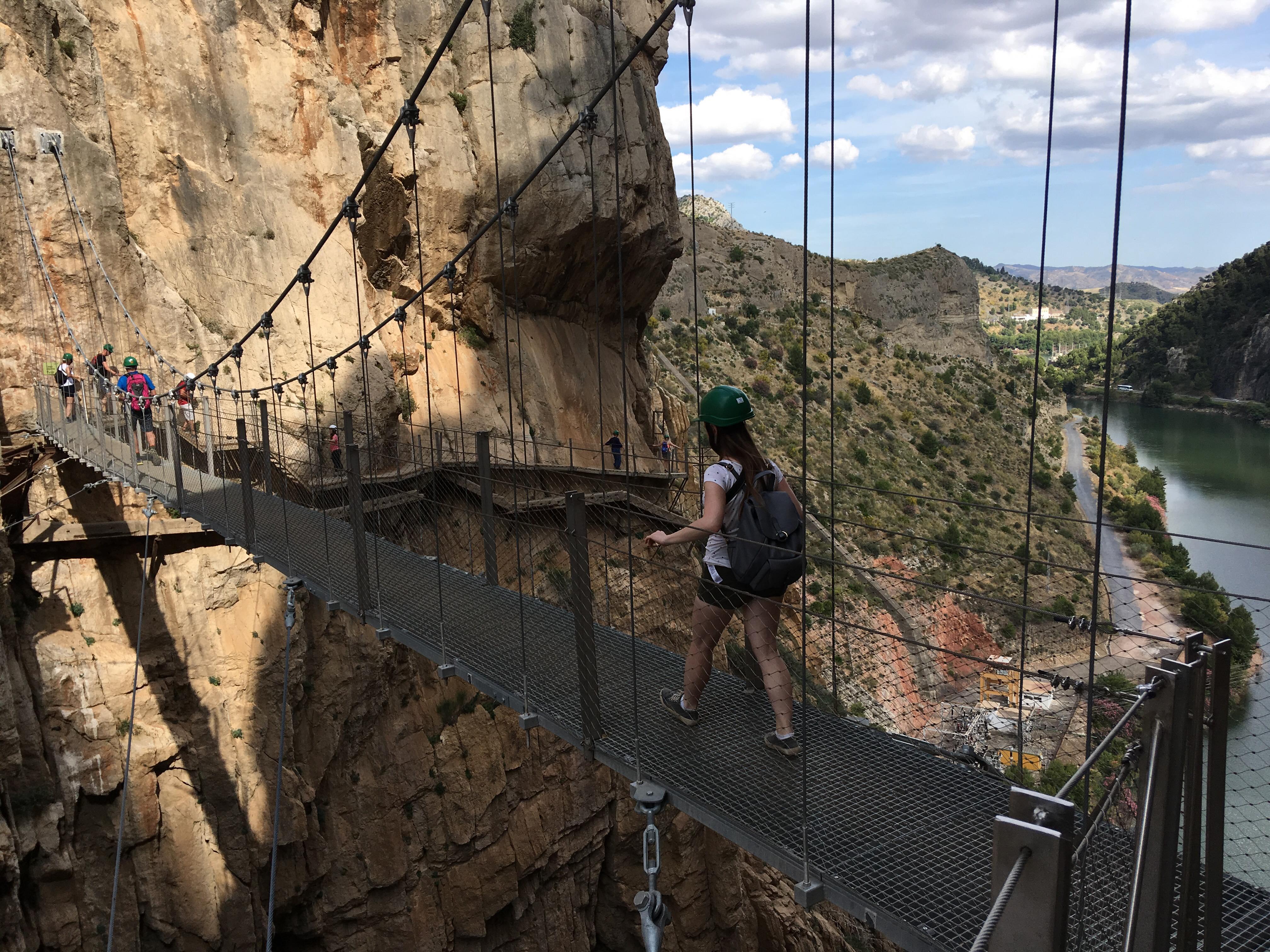 Caminito del Rey - spacer nad przepaścią