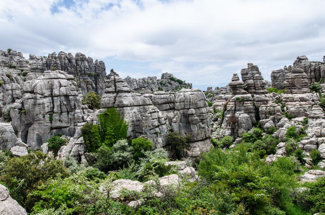 El Torcal de Antequera – spacer po wapiennych skałach