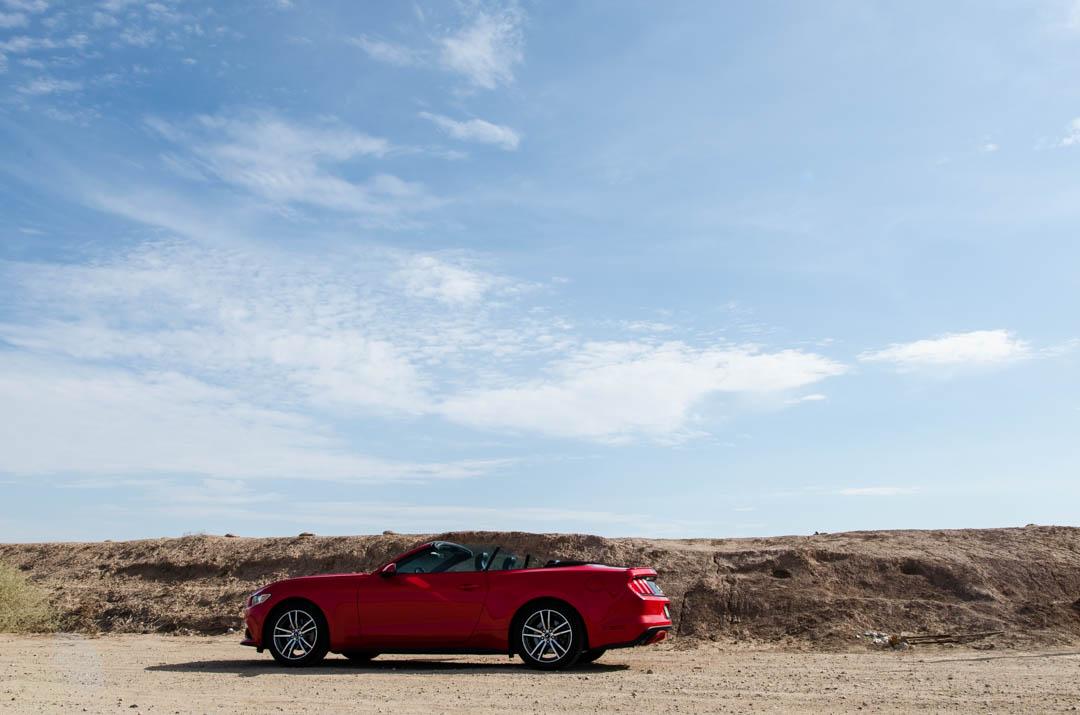 Czerwonym kabrioletem do San Diego przez Salvation Mountain - USA
