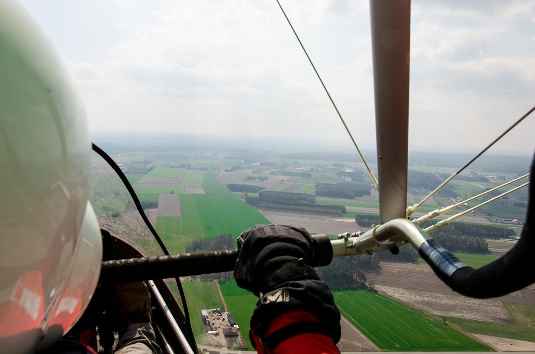 400 metrów nad ziemią, czyli lot motolotnią