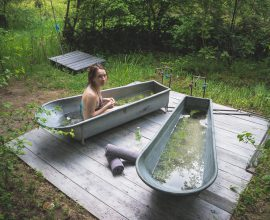 Camp Spa - balia, sauna i ziołowe kąpiele w lesie