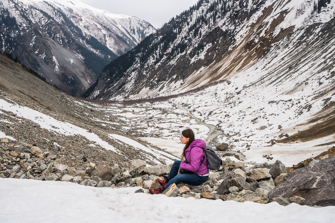 Trekking w Swanetii pod czoło lodowca. Mestia i krwawe walki rodów.